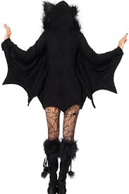 wholesale party all in black bat costume