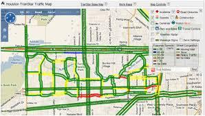 traffic map houston post oak traffic systems inc