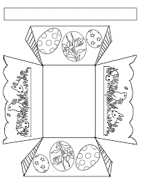 easter bunny baskets templates u2013 happy easter 2017