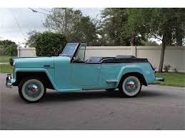 willys overland logo 1948 willys overland jeepster for sale classiccars com cc 1040096