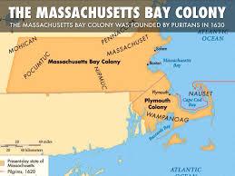 Massachusetts Colony Map by Massachusetts Bay By Luke Harland