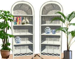 arched bookcase etsy