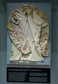 Why Is The American Flag Backwards On Uniforms Bin Laden Raid Items Displayed At Sept 11 Museum Albuquerque
