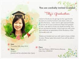 Sample Invitation Card For Graduation Ceremony Graduation Invitation Card Vertabox Com