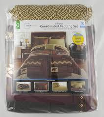 Cabin Bed Sets Mainstays Cabin Bed In A Bag Coordinated Bedding Set Walmart Com