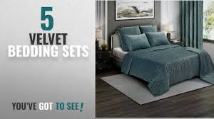 Premium Bedding Sets Top 10 Velvet Bedding Sets 2018 Brielle Premium Heavy Velvet