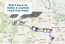 road trip map of usa make trip map major tourist attractions maps