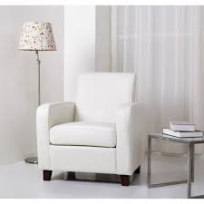 White Leather Club Chairs White Leather Accent Chair Contemporary And 14 Similar Items