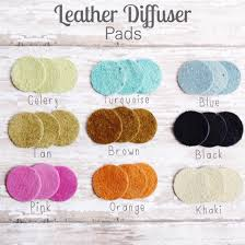 leather diffuser pads for essential oil diffuser necklaces 3
