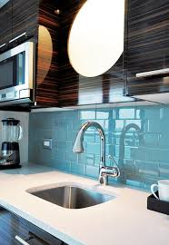 sky blue glass tile kitchen backsplash subway tile outlet
