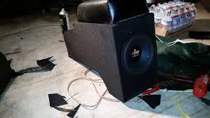 jeep wrangler speaker box custom jeep wrangler yj center console subwoofer box build