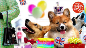 queen elizabeth ii 91st birthday song featuring corgis made for