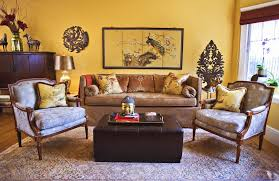 Yellow Sleeper Sofa Golden Yellow Paint Living Room Traditional With Sleeper Sofa