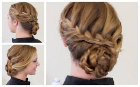 curly hair hairstyles for prom waterfall braid curly curls party