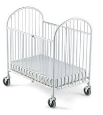 foundations portable folding steel baby cribs baby crib
