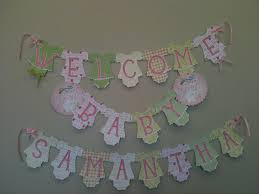 Home Made Baby Shower Decorations by Baby Shower Banners Little Pumpkin Baby Shower Banner