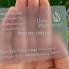 Transparent Business Cards India Pvc Card Cutter Picture More Detailed Picture About Brand New