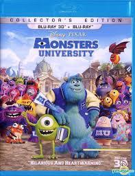 yesasia monsters university 2013 blu ray 2d 3d hong kong