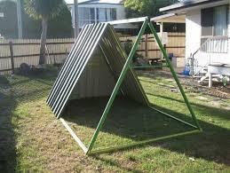 Diy Backyard Swing Set Diy Repurposed Swing Set Chicken Coop9 Jpg