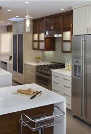 Two Tone Cabinets Kitchen Look You Can Choose Any Cabinet Door Color Or Stain Color You