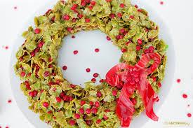 corn flake christmas wreath recipe