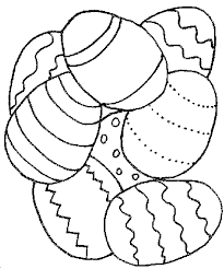 coloring pages bunch eggs color pictures