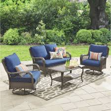 Patio Chairs At Walmart The Wicker Patio Chairs Walmart Pertaining To Cozy