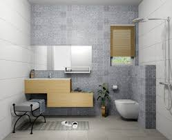 porcelanosa antique blue concrete silver tiles simulated by