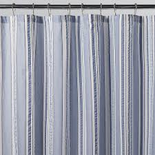 target navy and white striped curtain for shower
