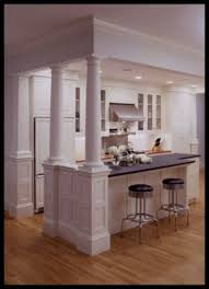 kitchen island columns kitchens with columns smartness ideas 10 kitchen island design gnscl