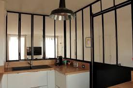 cuisine avec porte coulissante ordinaire decoration a vivre 10 verri232re de cuisine avec