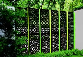 backyard privacy screens decorative metal outdoor privacy screens