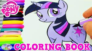 my little pony coloring book mlp twilight sparkle episode surprise