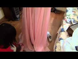121 prom dress shorten hem by loan youtube