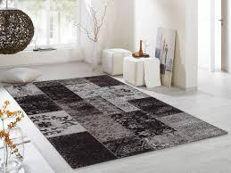 Schlafzimmer Teppich Oder Kork Dalliance Allover Vintage Patchwork Velour Teppich In Grau Viele