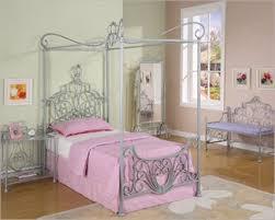 princess rebecca girls canopy bed powell furniture princess