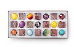 21 piece gourmet artisan chocolate collection christopher elbow