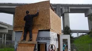 oakland dismantles tiny houses at homeless u0027village u0027 sf homeless