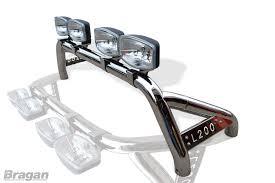 triton mitsubishi accessories to fit 05 15 mitsubishi l200 triton sport roll bar rollbar spots