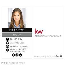 Keller Williams Business Cards Kw Real Estate Business Cards U2013 Pixels Printed