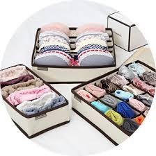 Underwear Organizer Underwear Organizer 5 Piece Set