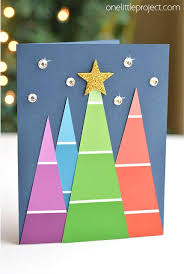 30 diy christmas cards how to make homemade holiday cards