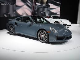 porsche graphite blue porsche unveils new porsche 911 and 911 turbo at 2016 detroit auto