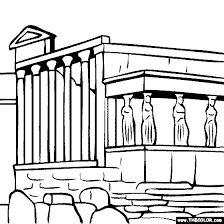 famous places landmarks coloring pages 1