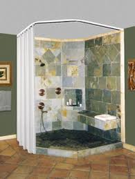 Bathroom Shower Rods Neo Angle Bath Ceiling To Floor Shower Rod Considering This As