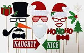 christmas photo booth props best quality felt christmas photo booth props mr and