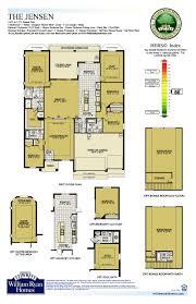 garage floor plans with bonus room william ryan homes tampa jensen floor plan 2633 sq ft base 1