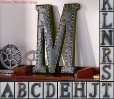 Home Decor Initials Letters Letters Metal Home Décor Plaques U0026 Signs Ebay