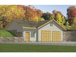 hillside garage plans house plan 039 00420 932 square square garage plans