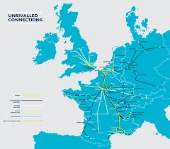 Lille France Map by Eurostar Train Travel London To Paris Rail Plus Australia
